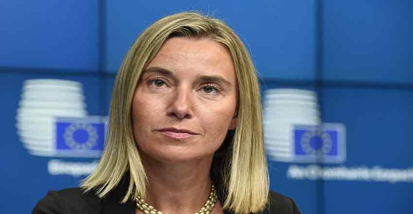 موگرینی - اتحادیه اروپا - توافق - هسته ای - ایران - قدرت های - جهانی