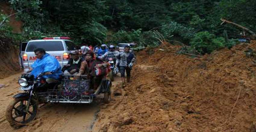 سیل - رانش زمین - اندونزی