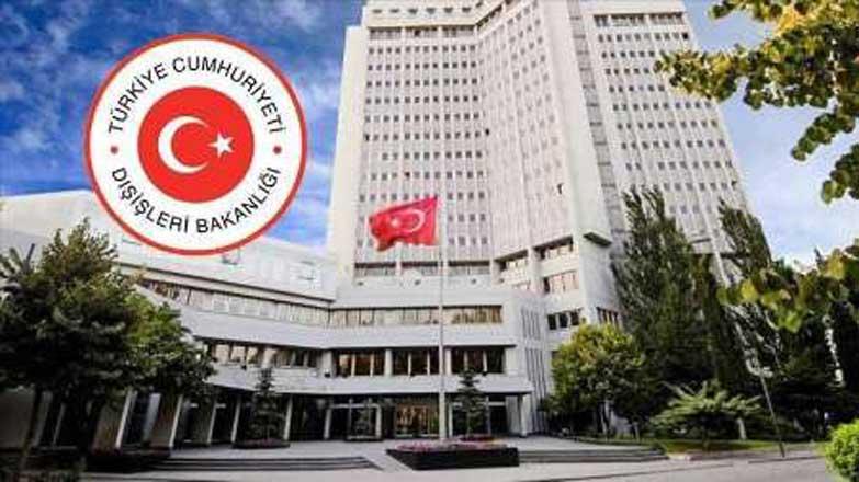وزارت امور خارجه ترکیه- اعلام آمادگی ترکیه برای کمک به سیل زدگان-ایران