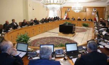 جلسه هیات دولت-وسایل فاقد بیمه نامه
