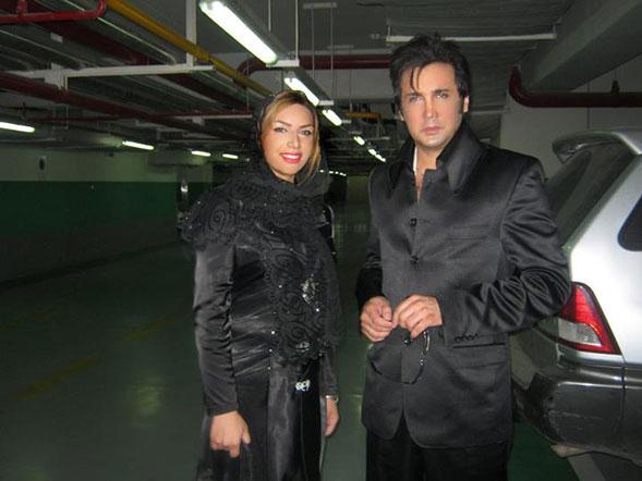 حسام نواب صفوی - همسرش
