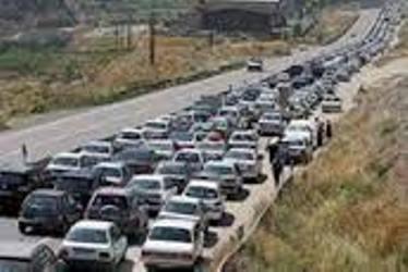 راهداری-ترافیک نیمه سنگین-تهران
