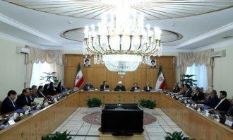 جلسه هیات دولت-وزیران علوم نیرو-تشکر از نمایندگان